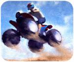 Đua Moto Trên Sa Mạc