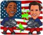 Obama Shooting Son