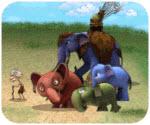 Đại chiến voi rừng