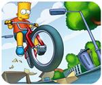 Simpson đua xe